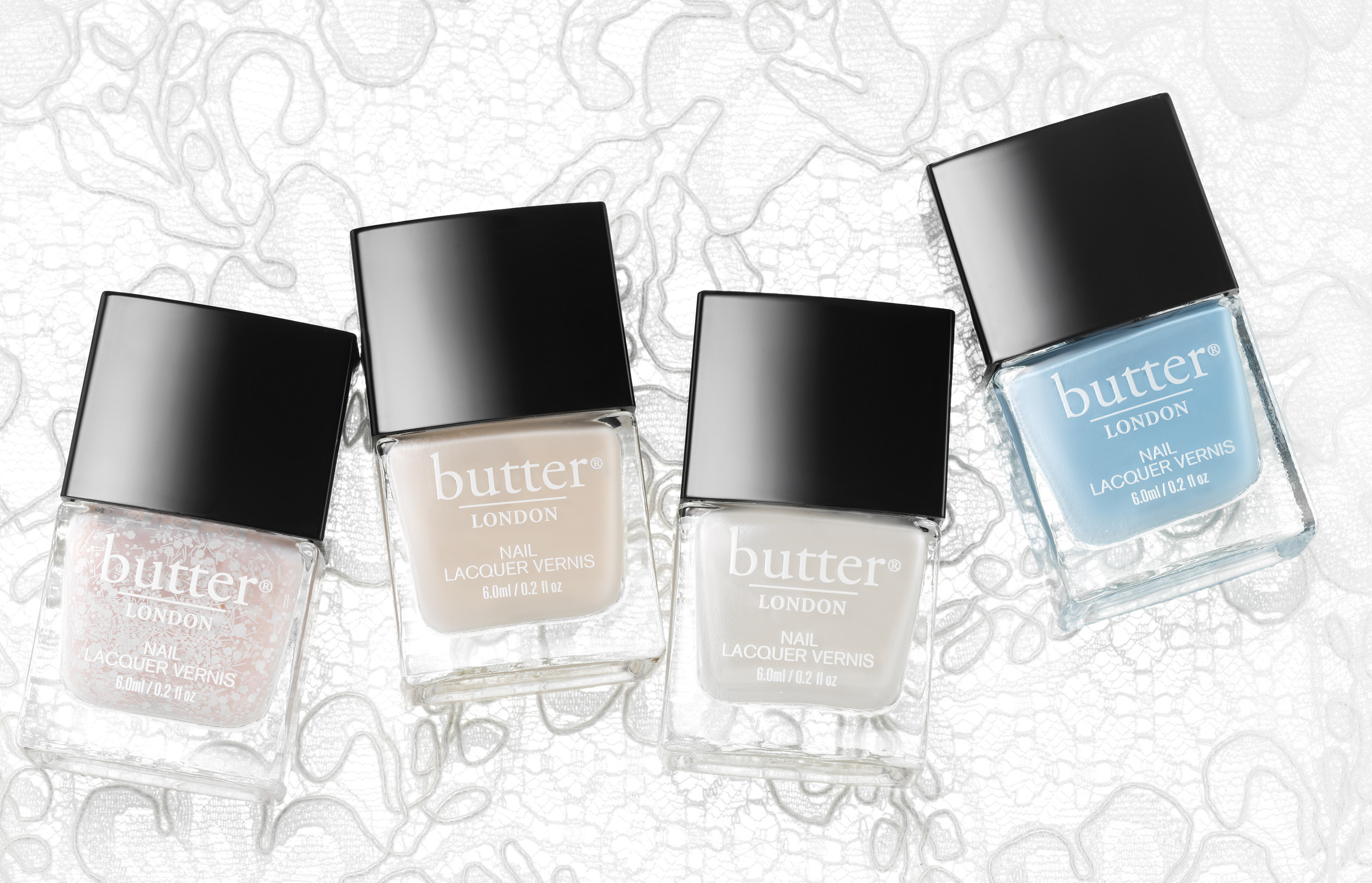 The Sweetness of Butter London Sweet Somethings Polish Set