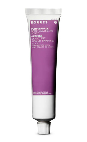 Korres Uses Pomegranate, Oak And Quercetin To Give You Baby Soft Skin