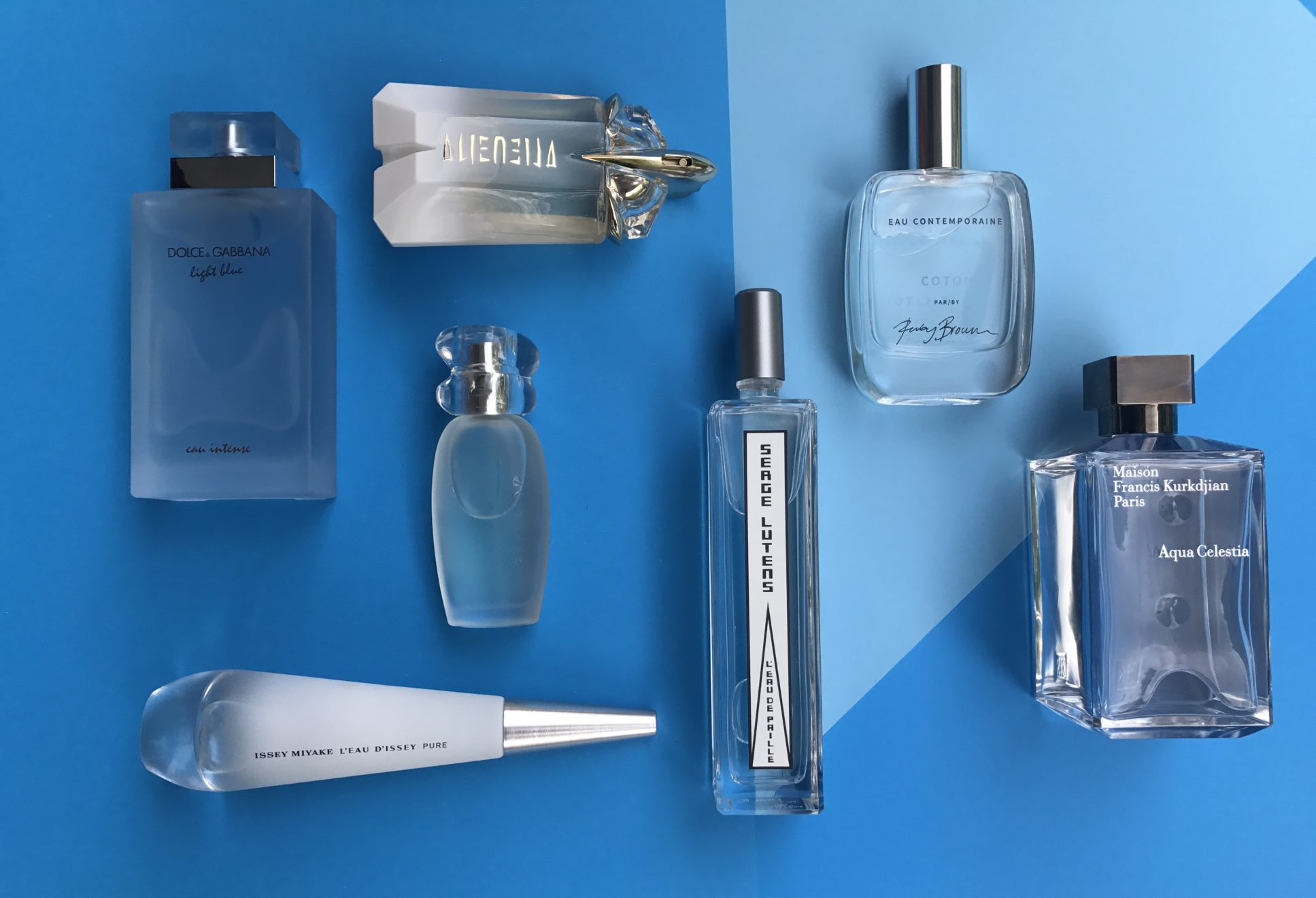 The Glorious 90s Aquatic Perfume Genre Is Back & I'm Loving It